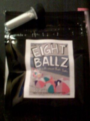 EIGHT BALLZ BATH SALTS OCEAN BURST EXTREME 500mg Hot Nights Bath Salts  Snow Blow Bath Salts