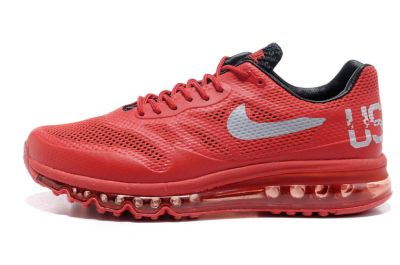 Nike Air Max 2013 Red White For USA Track Field Society Wholesale with free shipping and paypal