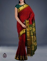 Online shopping for pure handloom gadwal sico sarees collection by unnatisilks