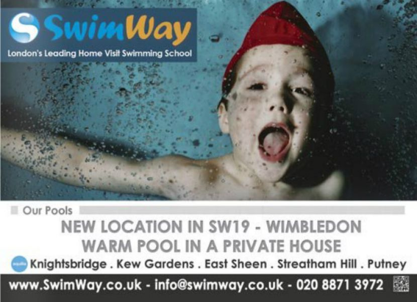 Small Group Parent and Baby Swimming Lessons in Wimbledon