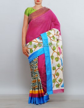Online shopping for Ramzon festival cotton saris collection by unnatisilks