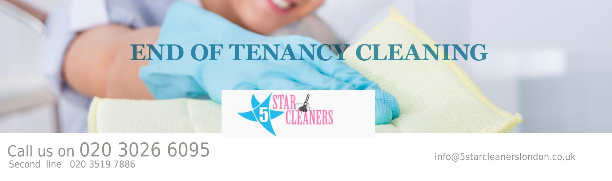 Professional End of tenancy cleaning London