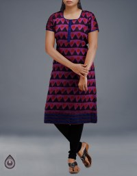 Online shopping for pure handloom chanderi kurtas by unnatisilks