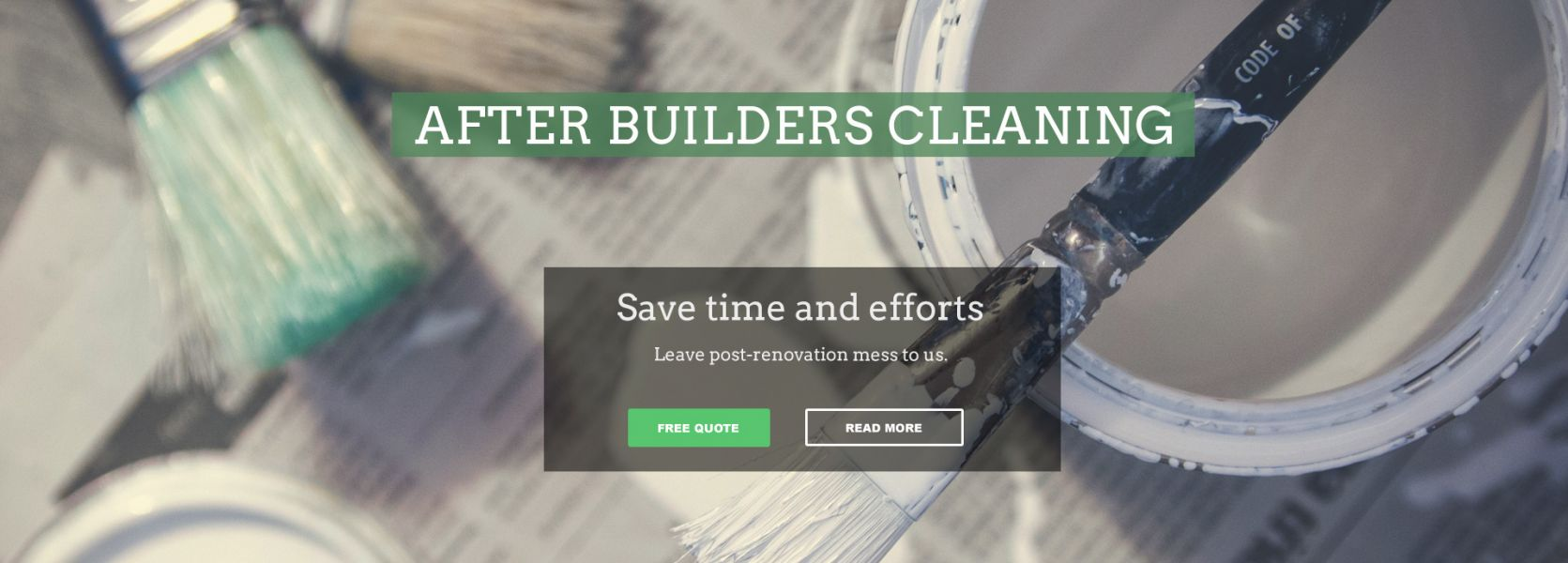 After builders cleaners Surrey