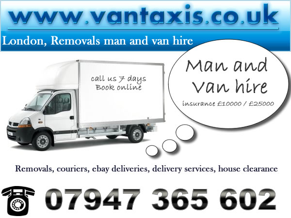 VANTAXIS - Man and Van Hire London