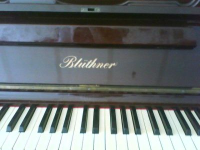 Upright Piano Bluthner from 1859