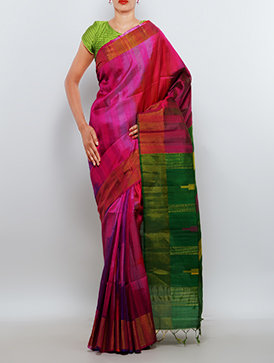 Online shopping for pure pochampally dupion saris by unnatisilks