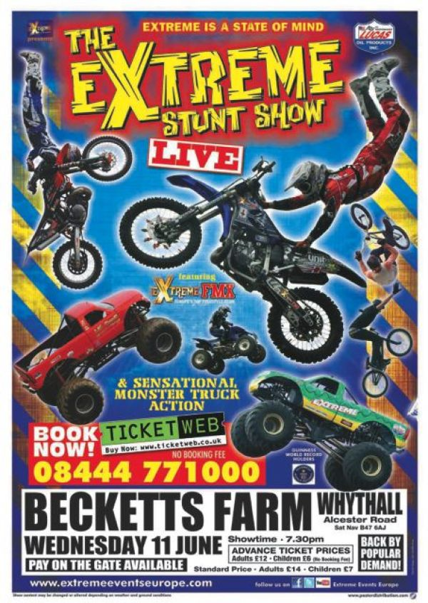 The Extreme Stunt Show Live