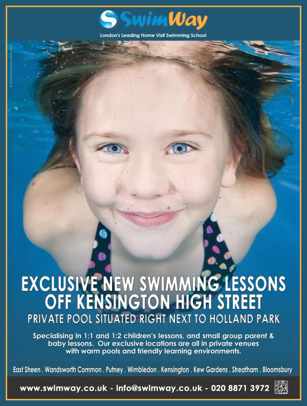 Parent & Baby Swimming Lessons in Kensington