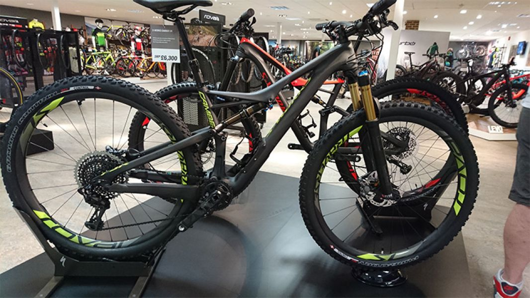 2017 Specialized S-Works Epic FSR World Cup