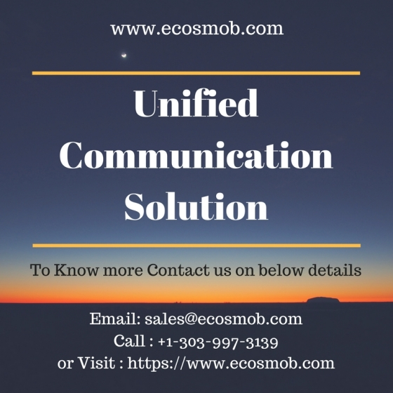 Unified Communication Solution to Empower your Businesses