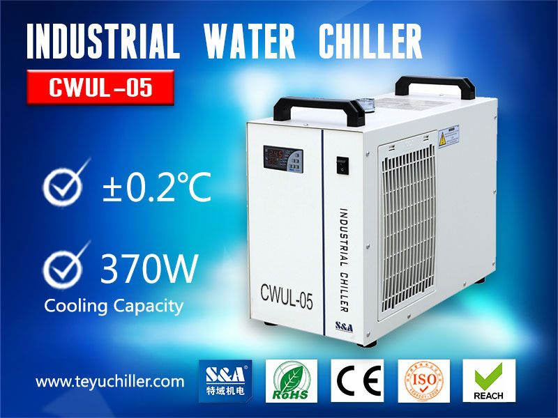 Refrigeration Air Cooled Chiller for UV Laser Marking Machine