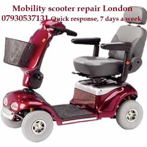 Electric bikes, scooters, electric vehicles repair welding on your site London