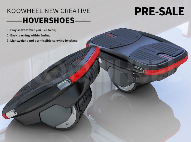 Koowheel Exclusive Smart Hovershoes smart hoverboard self balancing single wheel e-scooter Preorder