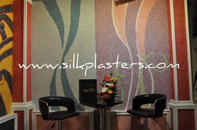 Silk Plaster unique liquid wallpaper, wall covering, wall coating