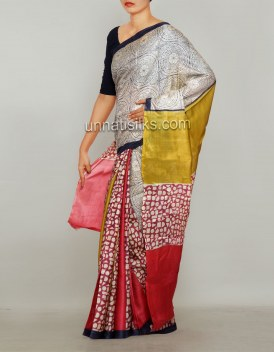Online shopping for party pure silk sarees by unnatisilks
