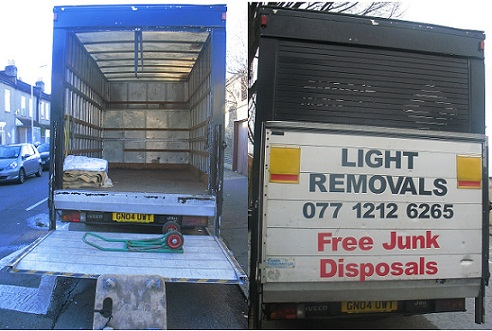 London Man and Van Domestic and Office Removals Disposals