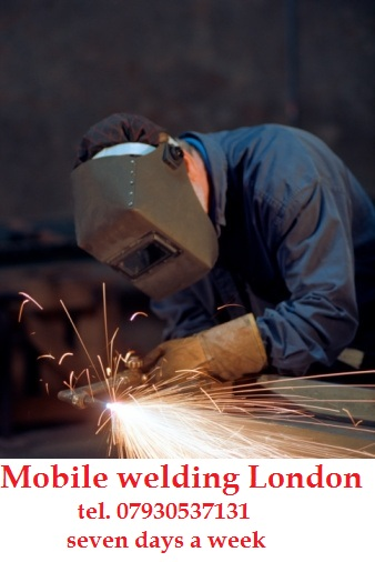 Mobile welder - fabricator London. East London, Central London, North London