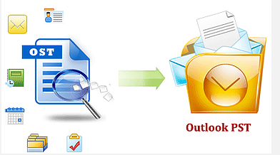 Convert OST2PST by Atom TechSoft Outlook OST Emails Recovery tool to Fix .ost file